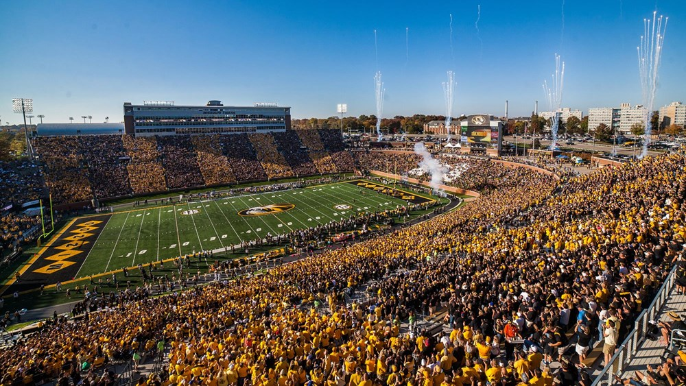 Memorial Stadium Faurot Field