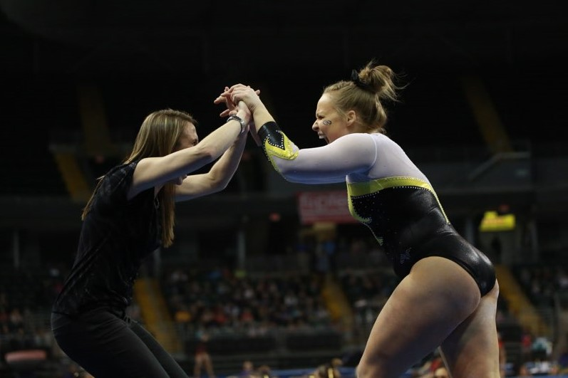 20 @MizzouGym Takes Second at Mardi Gras Invitational