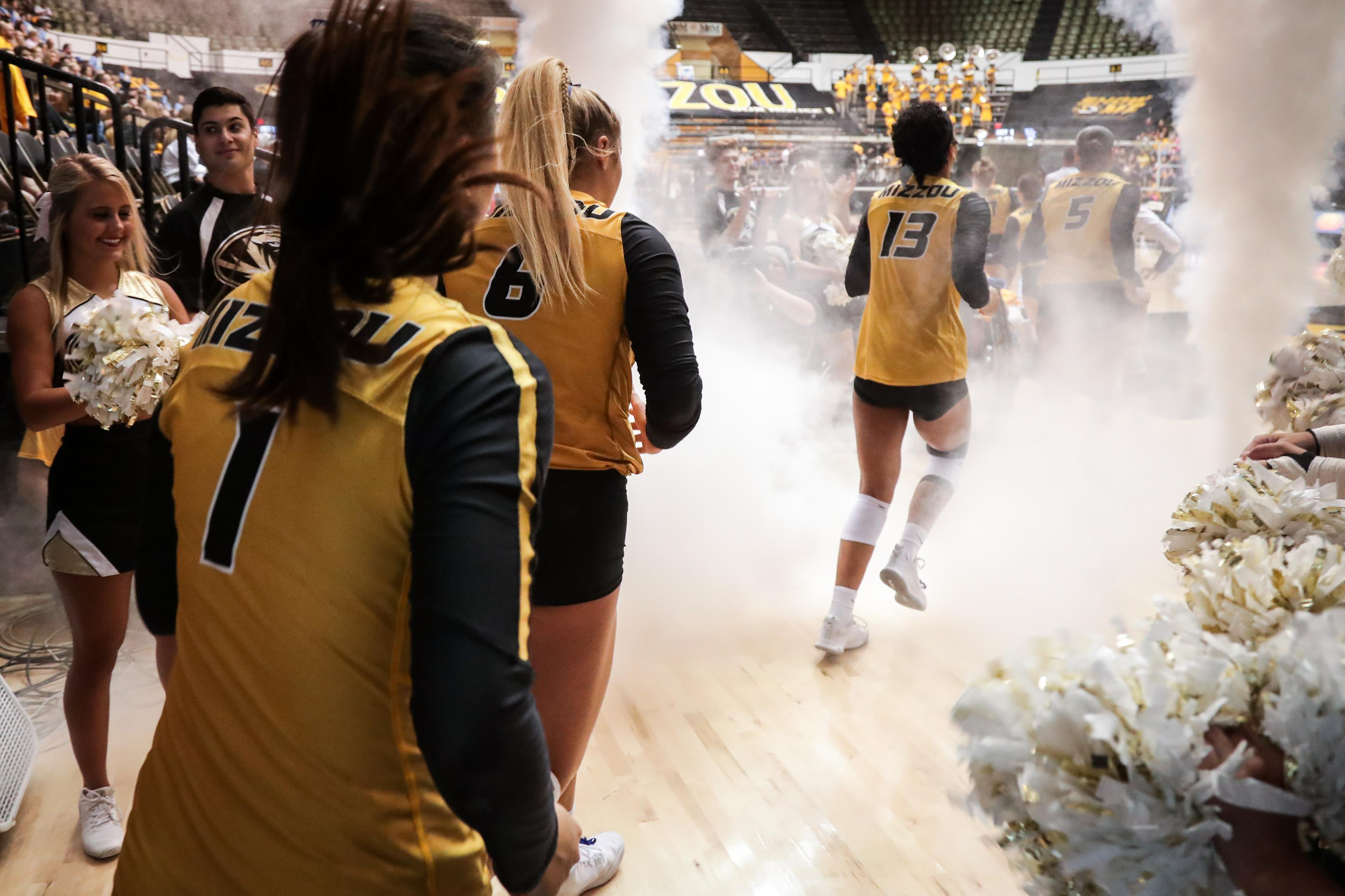 No 22 Mizzou Volleyball Hosts Texas A M Sunday Afternoon University Of Missouri Athletics