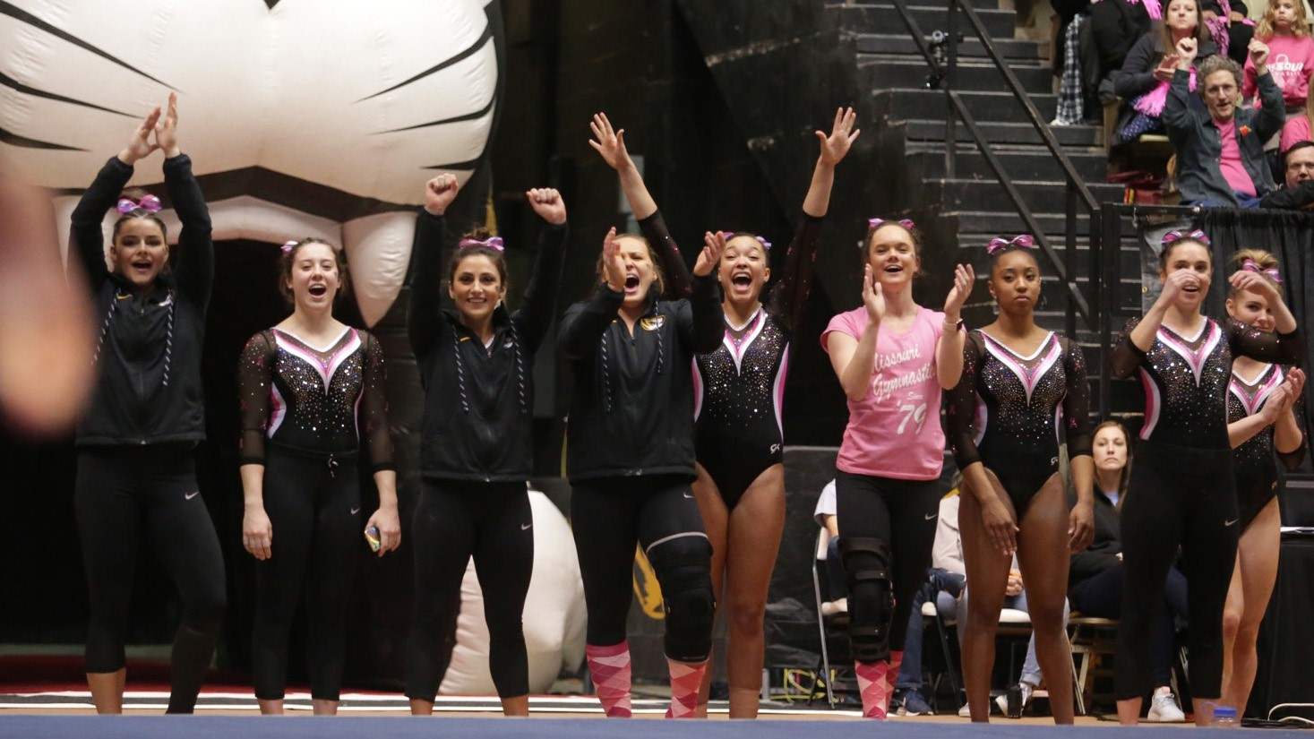 15 @MizzouGym Set for Double Weekend at Mardi Gras Invitational and LSU